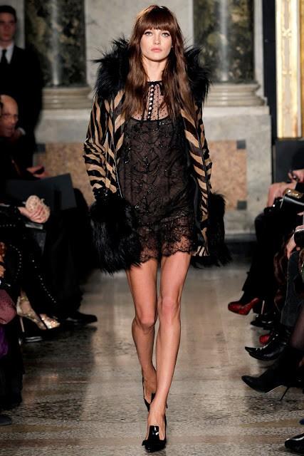 черный цвет в одежде: коллекция Emilio Pucci фото 5