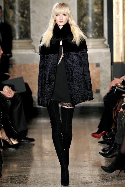 черный цвет в одежде: коллекция Emilio Pucci фото 2