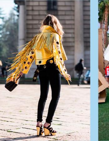 Этнический стиль в одежде:  бахрома снова в моде (фото образы 2018-2019)