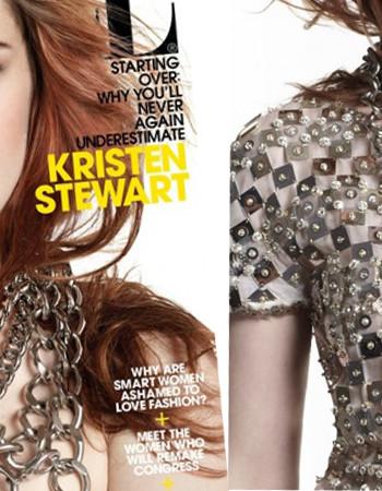 Фото Кристен Стюарт для Elle: и снова Chanel