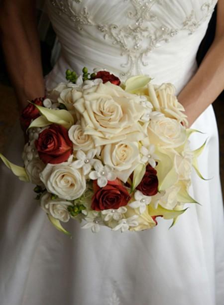 свадебный букет фото 33