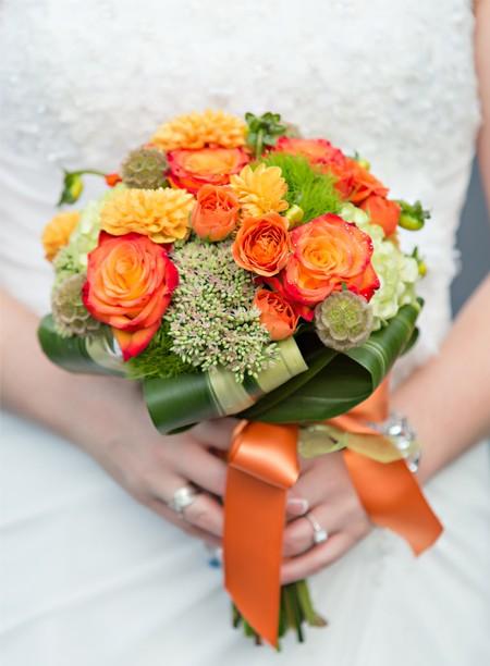 свадебный букет фото 10