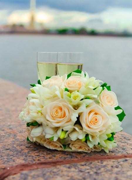 свадебный букет фото 8