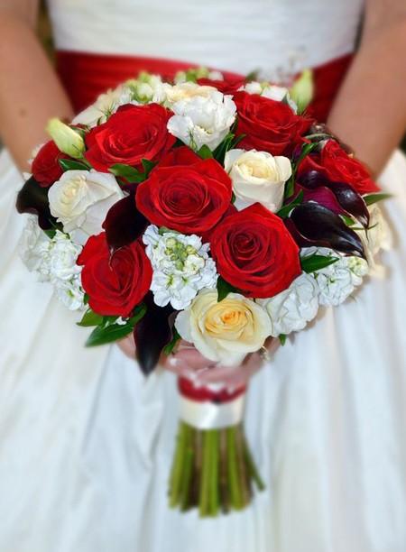 свадебный букет фото 38