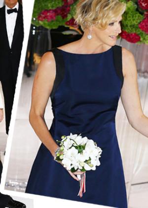 Княгиня Шарлен и князь Альберт ІІ Монако