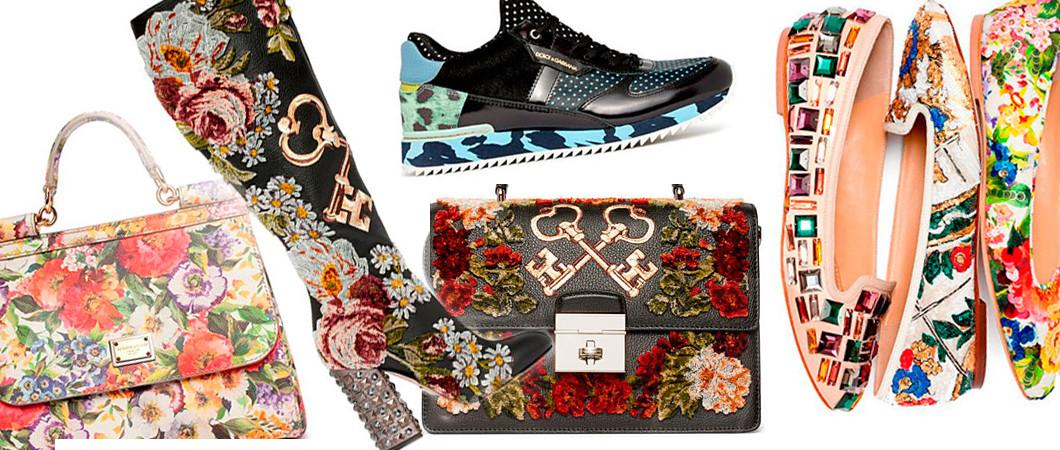 Коллекция Дольче Габбана (Dolce&Gabbana) сумок, обуви  Pre-Fall 2020