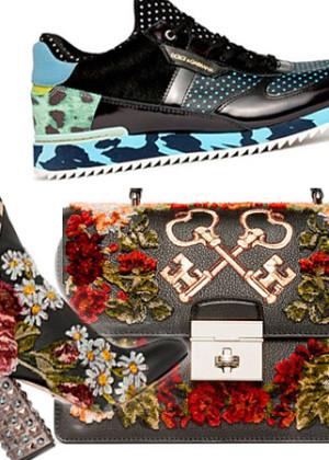 Коллекция Дольче Габбана (Dolce&Gabbana) сумок, обуви Pre-Fall 2018