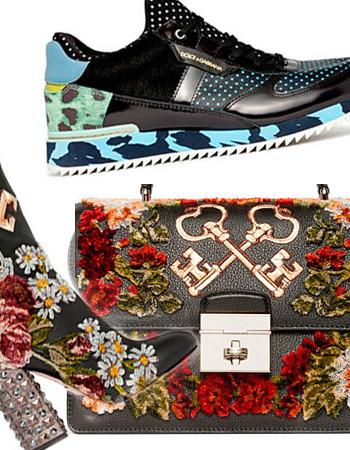 Коллекция Дольче Габбана (Dolce&Gabbana) сумок, обуви  Pre-Fall 2019