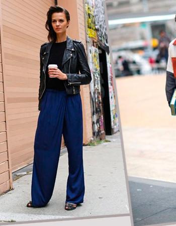 Кожаная куртка: как составить гардероб и с чем носить осенью 2021