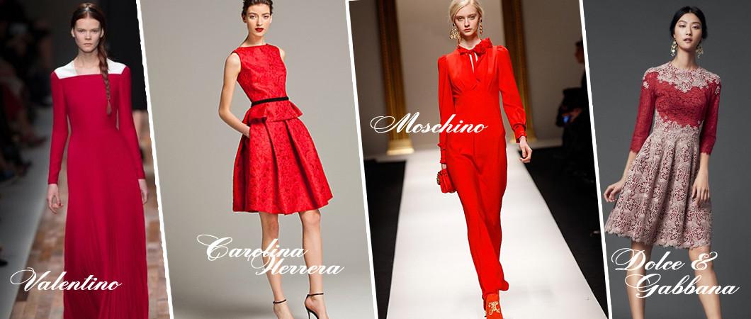 Красный цвет в одежде: тенденции и фото из коллекций 2019-2020 года