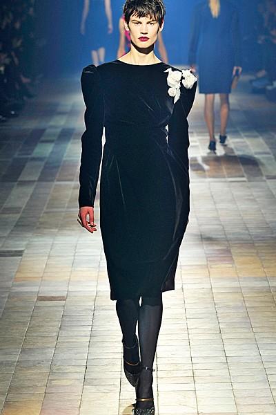 черный цвет в одежде: коллекция Lanvin фото 2