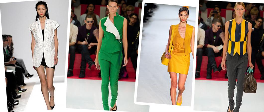 Модные женские жилеты и жилетки — 2020.