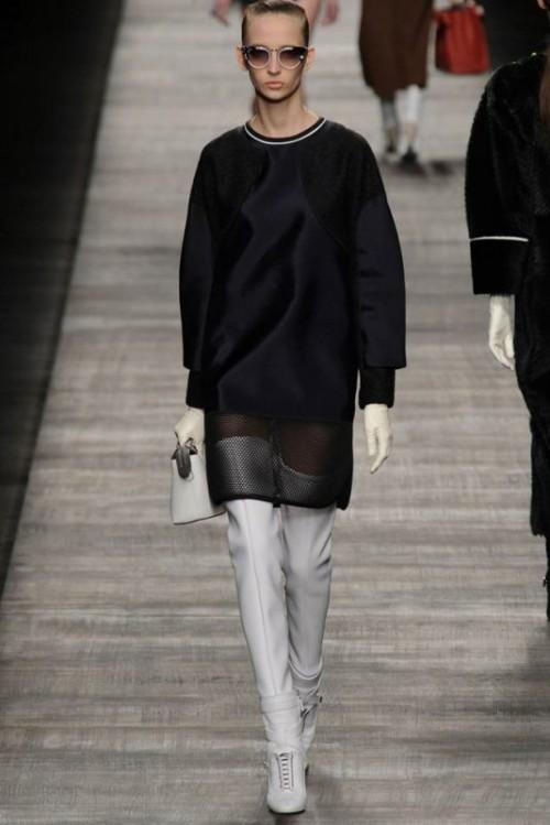 Fendi одежда осень зима 2017-2018 фото 24