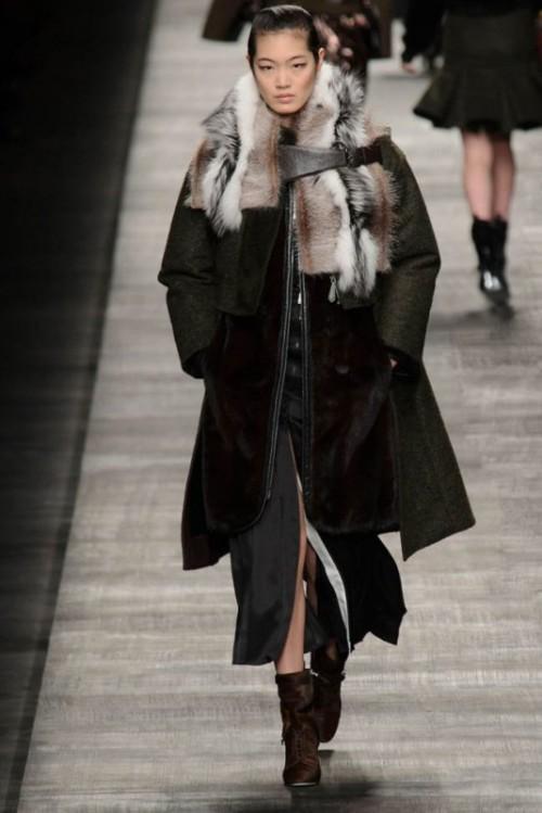 Fendi одежда осень зима 2017-2018 фото 25