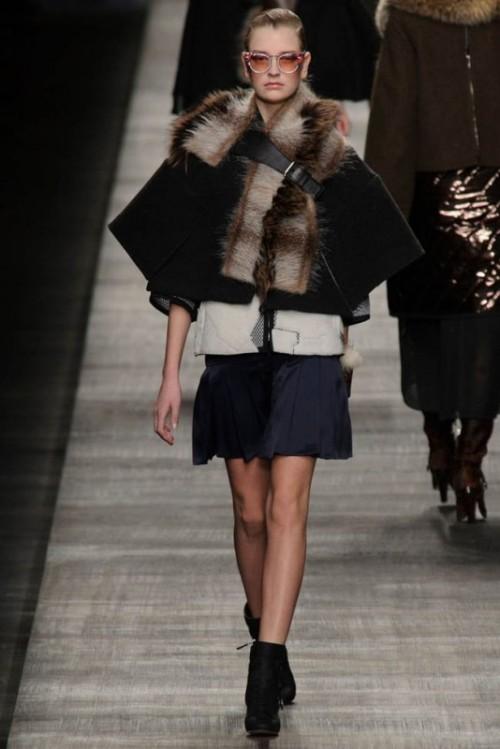Fendi одежда осень зима 2017-2018 фото 17