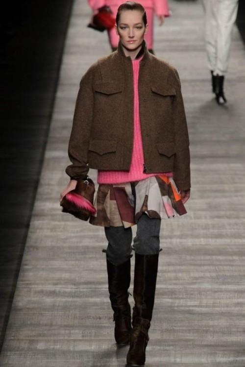 Fendi одежда осень зима 2017-2018 фото 15