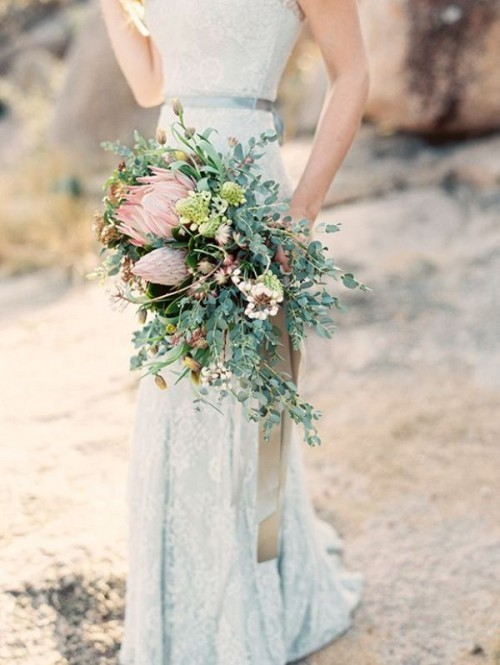 свадебный букет 2019 фото 29