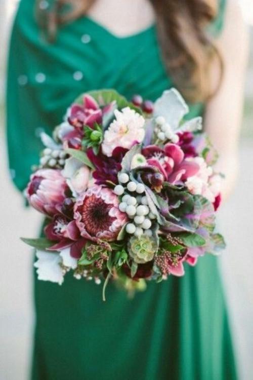 свадебный букет 2019 фото 20