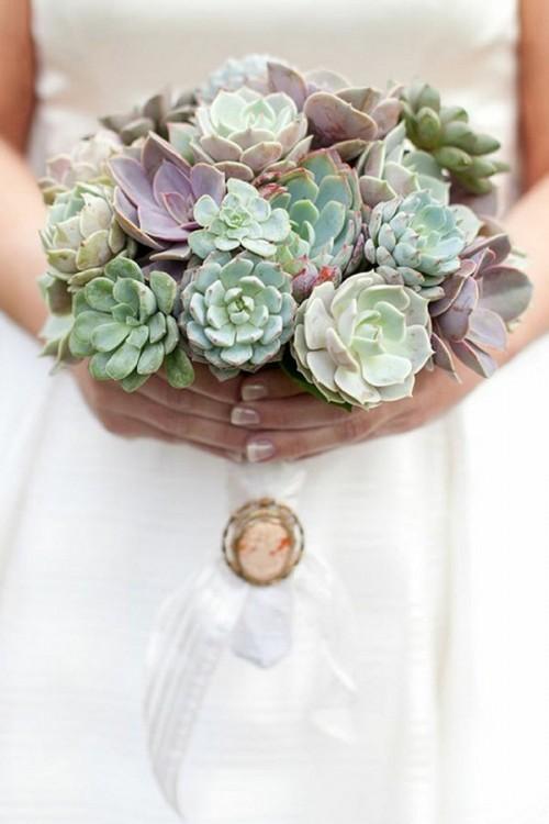 оригинальные свадебные букеты фото 16