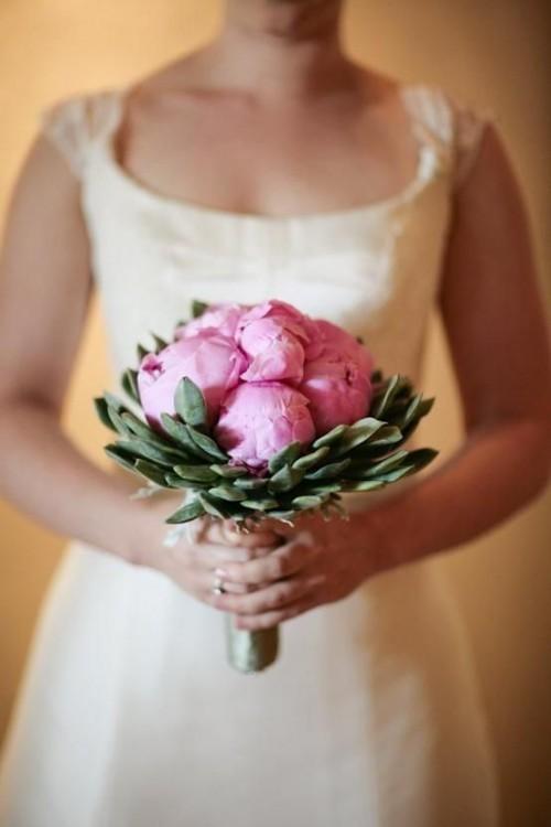 оригинальные свадебные букеты фото 17