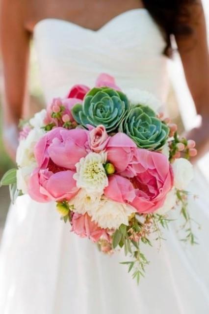 оригинальные свадебные букеты фото 19