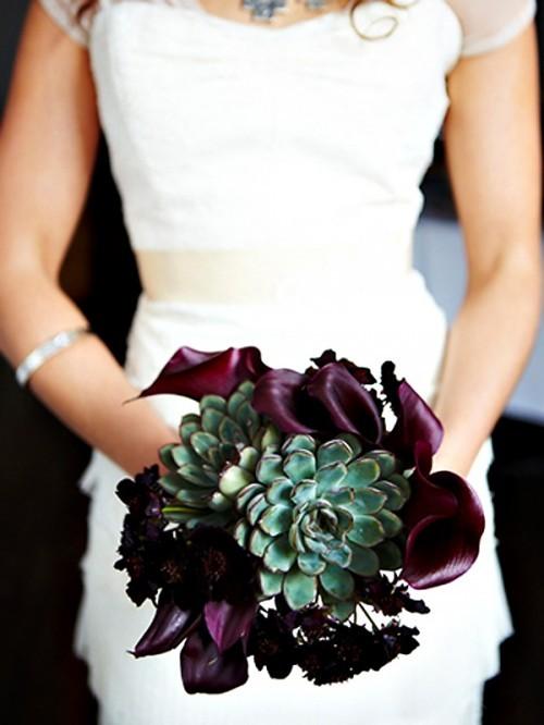 оригинальные свадебные букеты фото 20
