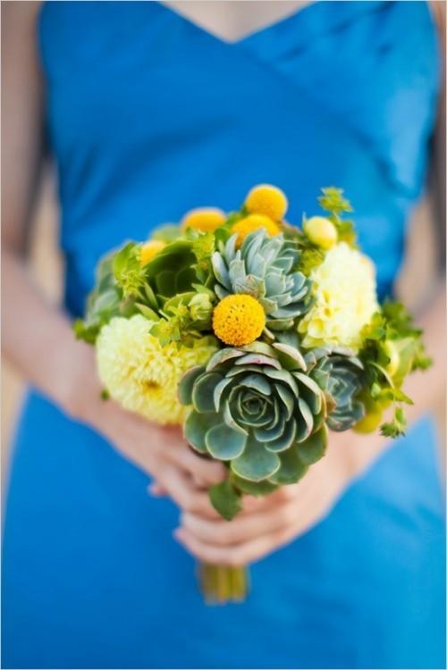 оригинальные свадебные букеты фото 10