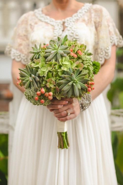 оригинальные свадебные букеты фото 24