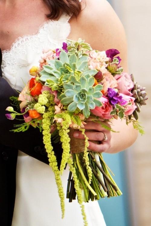 оригинальные свадебные букеты фото 29