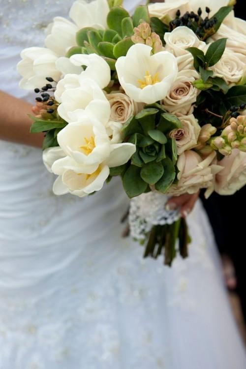 оригинальные свадебные букеты фото 1