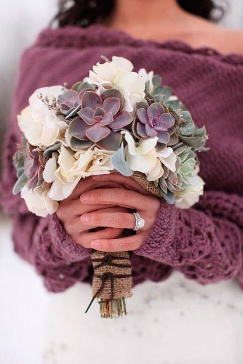 оригинальные свадебные букеты фото 32