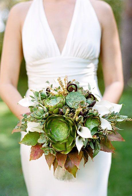 оригинальные свадебные букеты фото 39