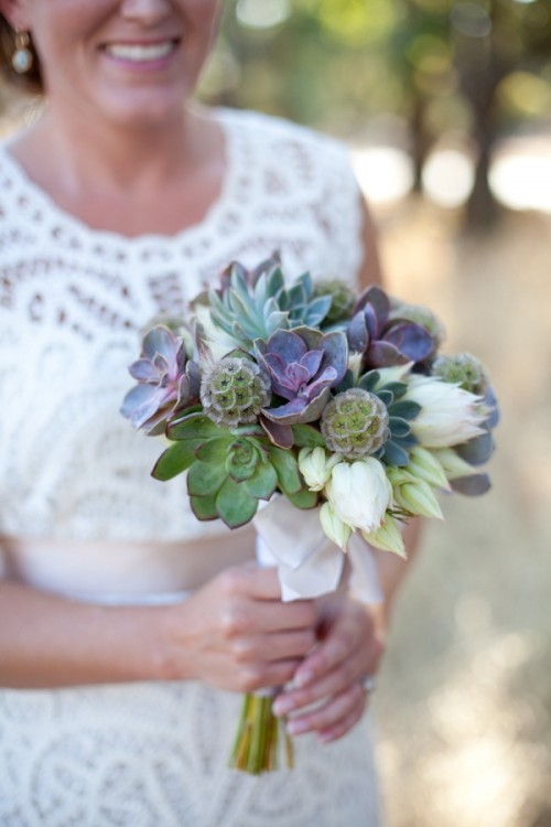 оригинальные свадебные букеты фото 9