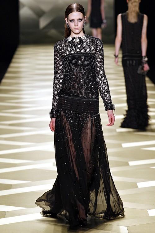 черное вечернее платье Roberto Cavalli