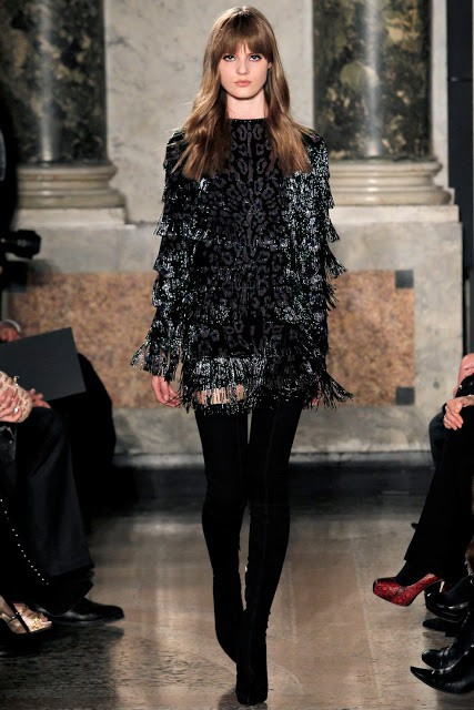 черный цвет в одежде Roberto Cavalli фото 4