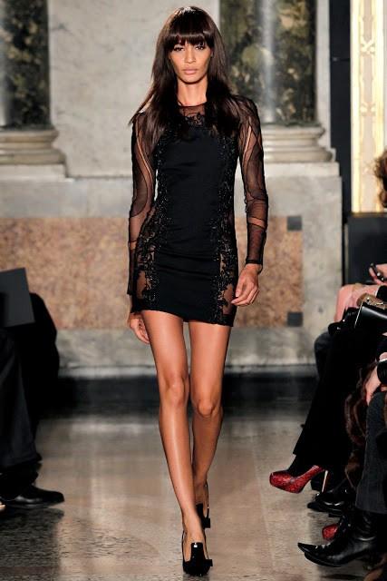 маленькое черное платье  Roberto Cavalli