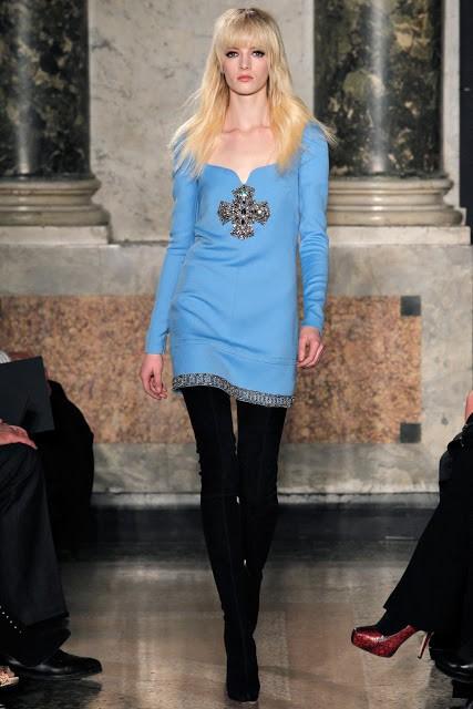 сочетание синего цвета в одежде Emilio Pucci