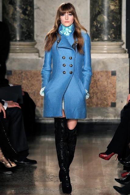 сочетание синего цвета в одежде Emilio Pucci фото 3
