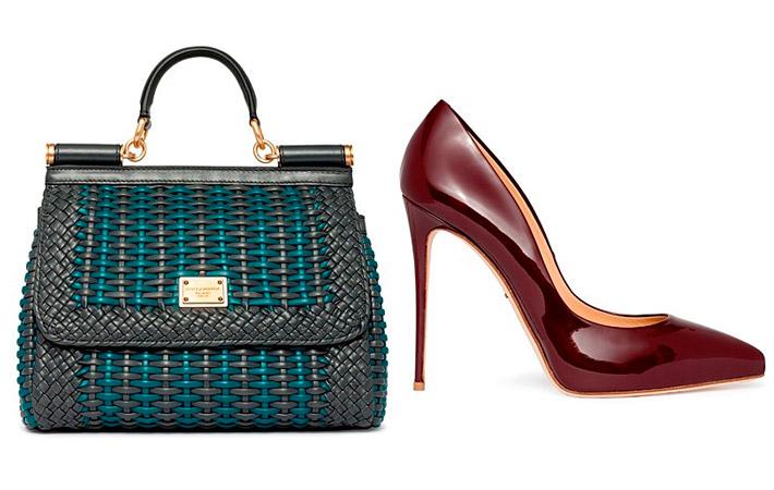 Dolce&Gabbana сумка туфли 2017