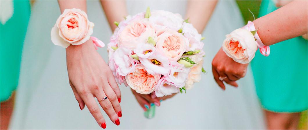 Свадебные бутоньерки: фото красивых решений