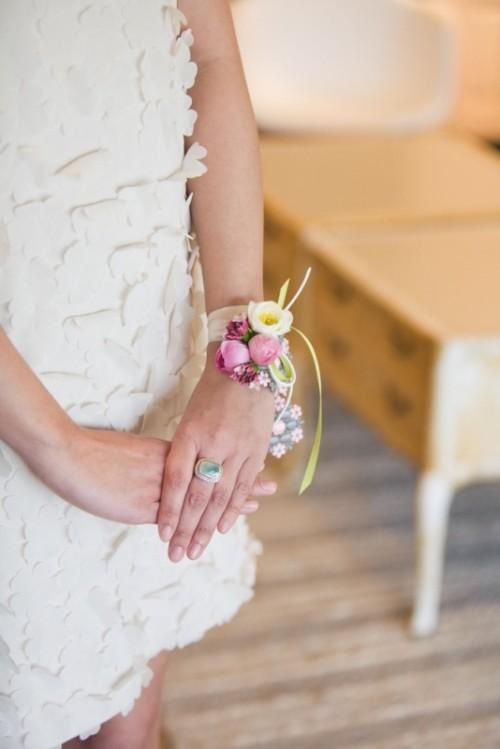 свадебная бутоньерка фото 12