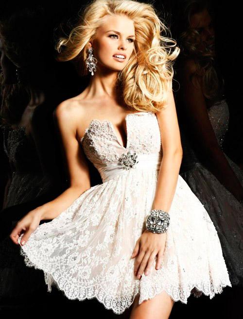 короткое свадебное платье: коллекция 2018 фото 17