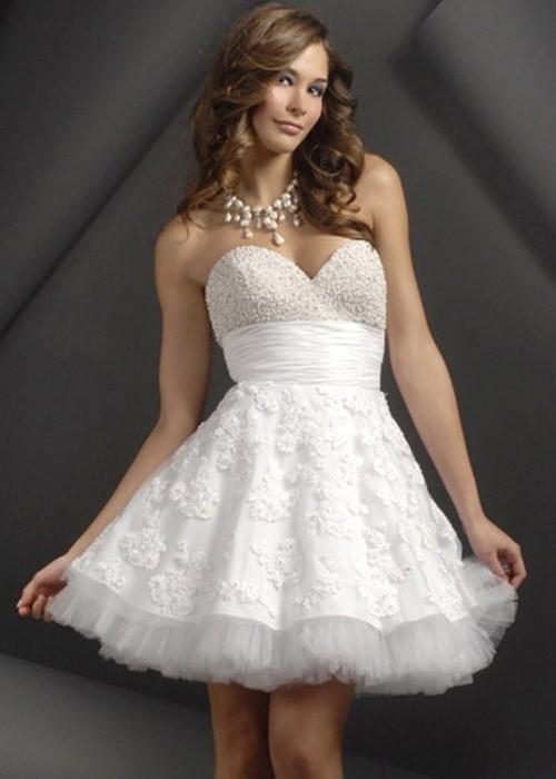 короткое свадебное платье: коллекция 2018 фото 12