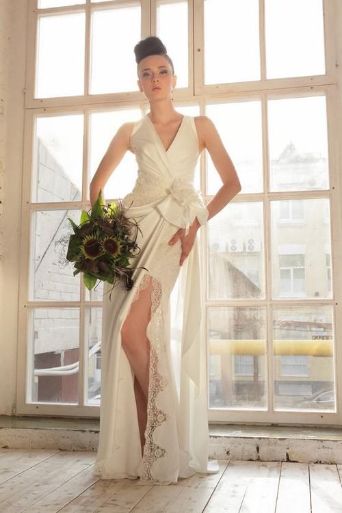 короткое свадебное платье: коллекция 2018 фото 10