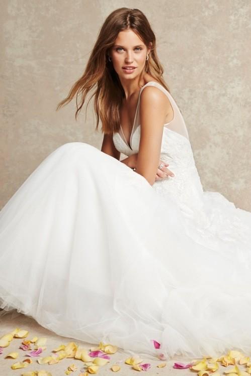 Monique Lhuillier свадебное платье фото 1