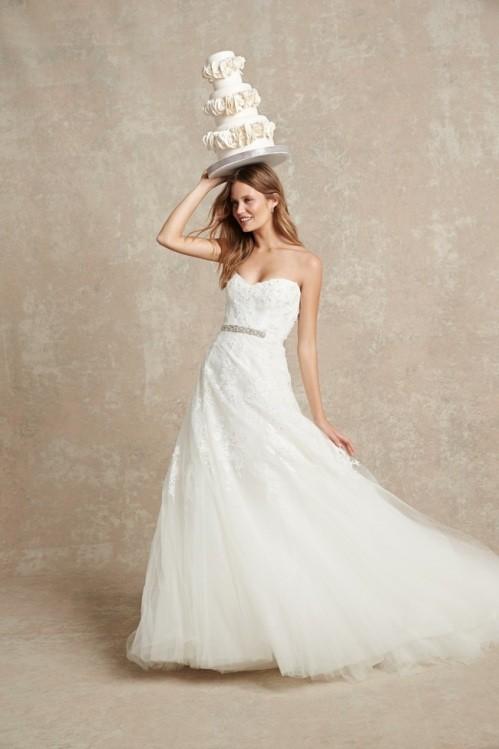 Monique Lhuillier свадебное платье фото 13