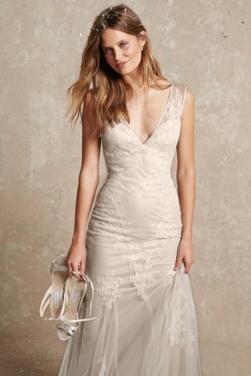 Monique Lhuillier свадебное платье фото 2