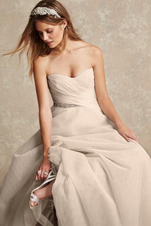 Monique Lhuillier свадебное платье фото 4