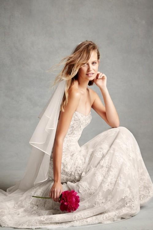 Monique Lhuillier свадебное платье фото 5