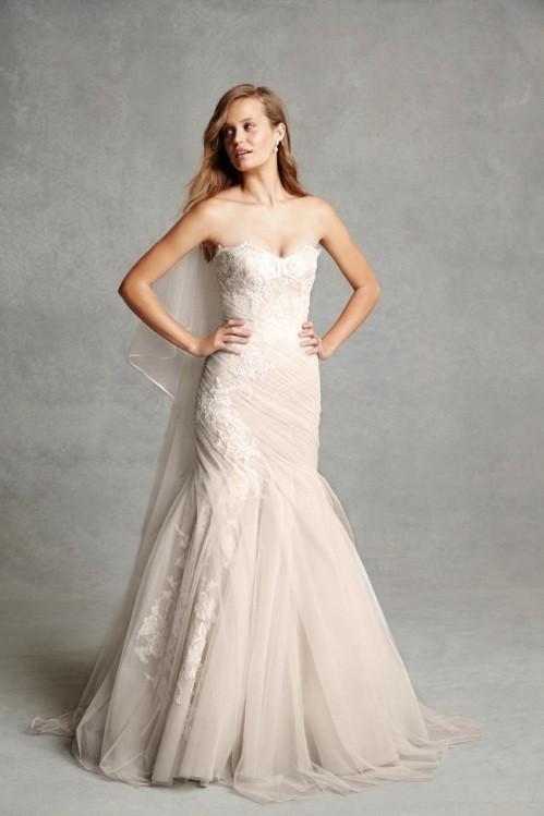 Monique Lhuillier свадебное платье фото 6